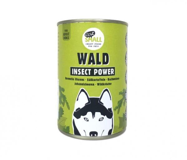 Eat Small WALD - Nassfutter aus Insekten für Feinschmecker