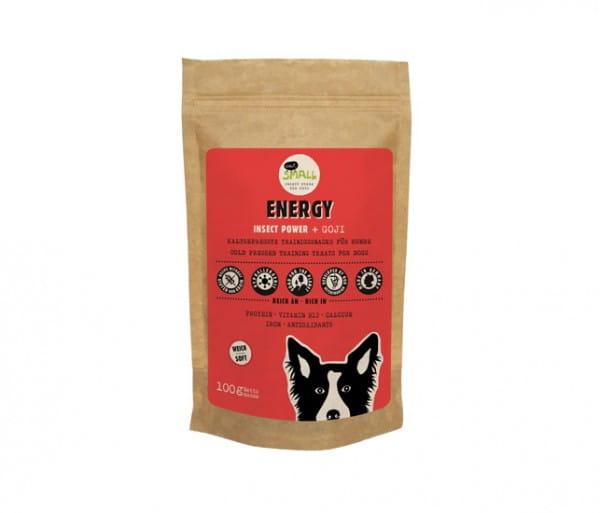 Eat Small ENERGY - Snacks für Hunde auf Insektenbasis